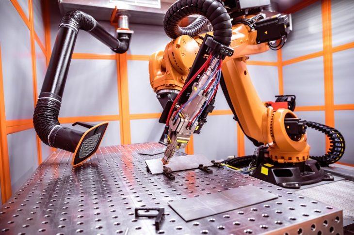 Fiber-lézer-robot
